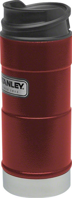 Stanley Classic One-Hand Vacuum Insulation Mug: Crimson 12oz