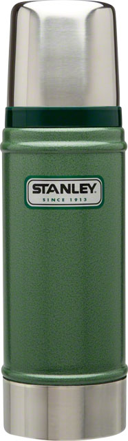Stanley Classic Vacuum Insulated Bottle: Hammertone Green, 16oz