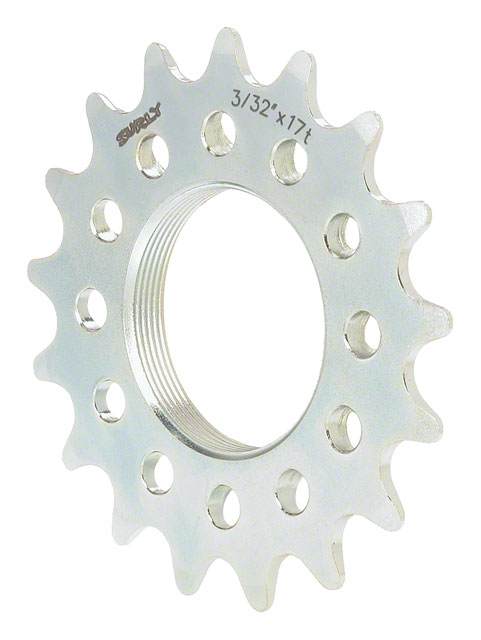 Surly Track Cog 3/32'' X 17t Silver Fixed Gear