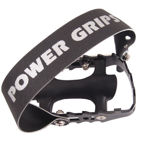Power Grips Pedals and Straps 9/16 Black