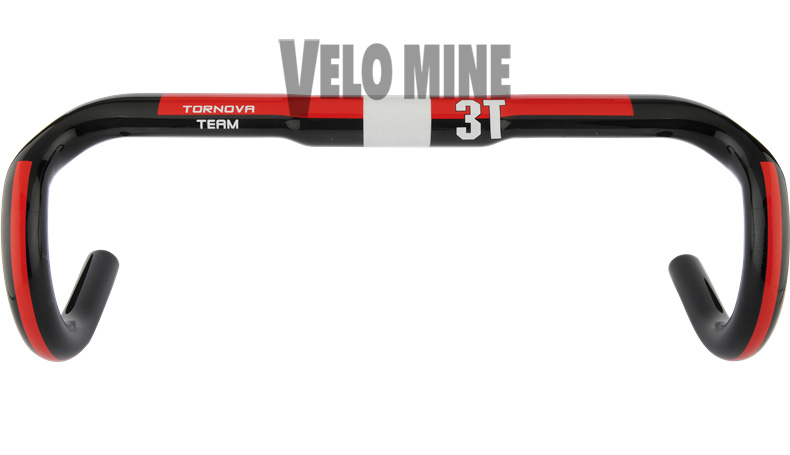3T Tornova Team Carbon Handlebar 217 grams 44cm