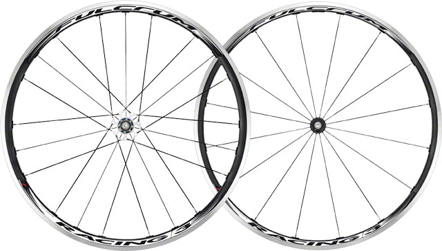 2013 Fulcrum Racing 3 Black & WHite Road Bike Wheelset