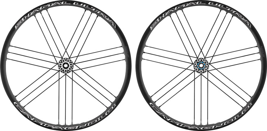 Campagnolo Shamal Ultra Disc Brake Road Bike Wheelset 2 Way Fit