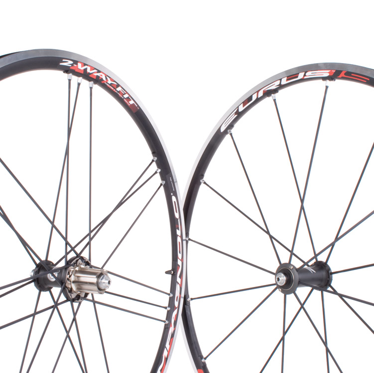 2011 Campagnolo Eurus 2 Way Fit Tubeless Wheelset 1500g