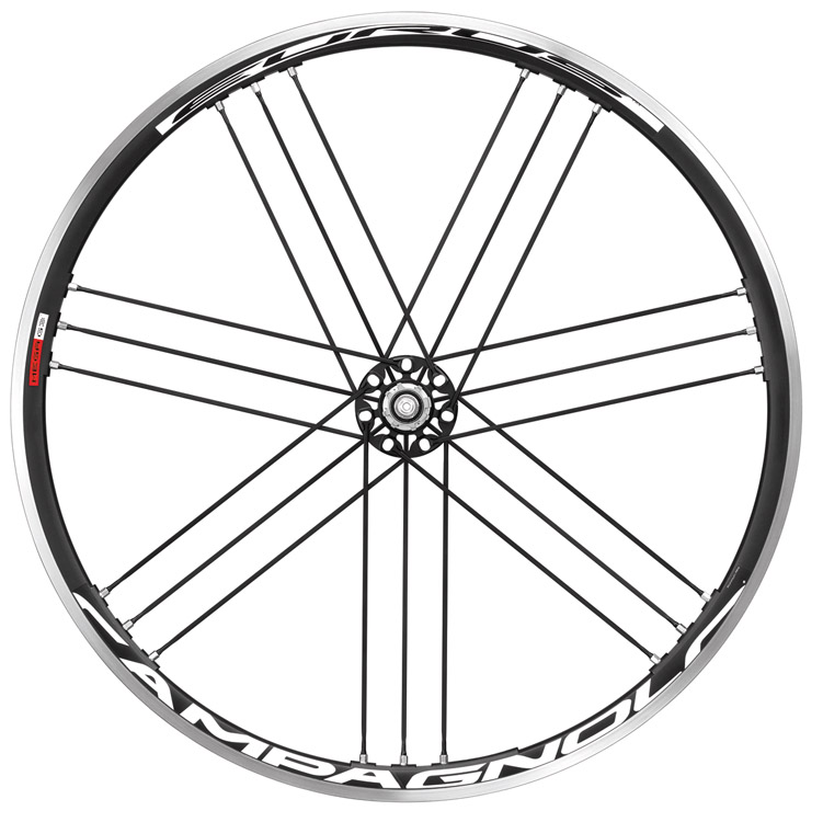 2012 Campagnolo Eurus Dark Label Wheelset Front and Rear