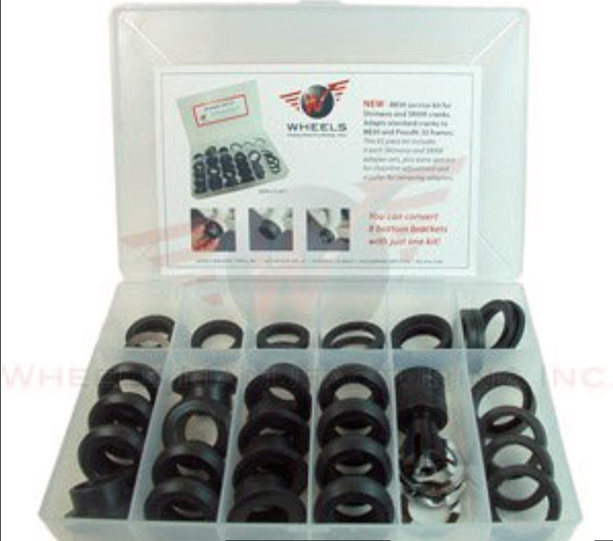 Wheels Manufacturing BB Adapter Shim Kit-BB30/PF30