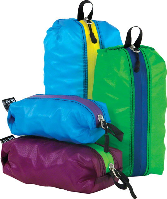 Granite Gear Air ZippDitty Stuff Sack: Set of 4 Sizes