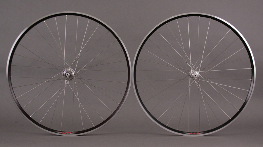 Velocity a23 Black White Industries T11 Silver Hubs Wheels CAMPY