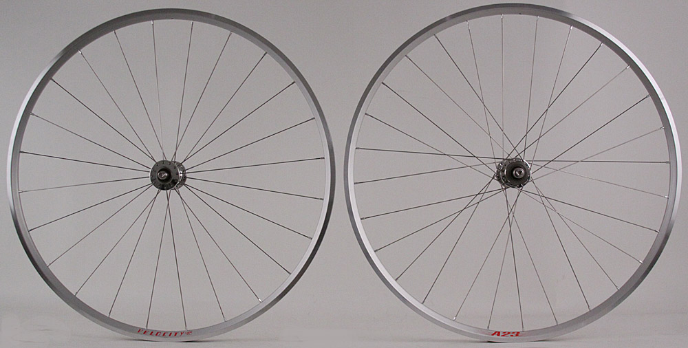Velocity A23 Phil Wood Track Bike Fixed Gear Wheels Lightweight!