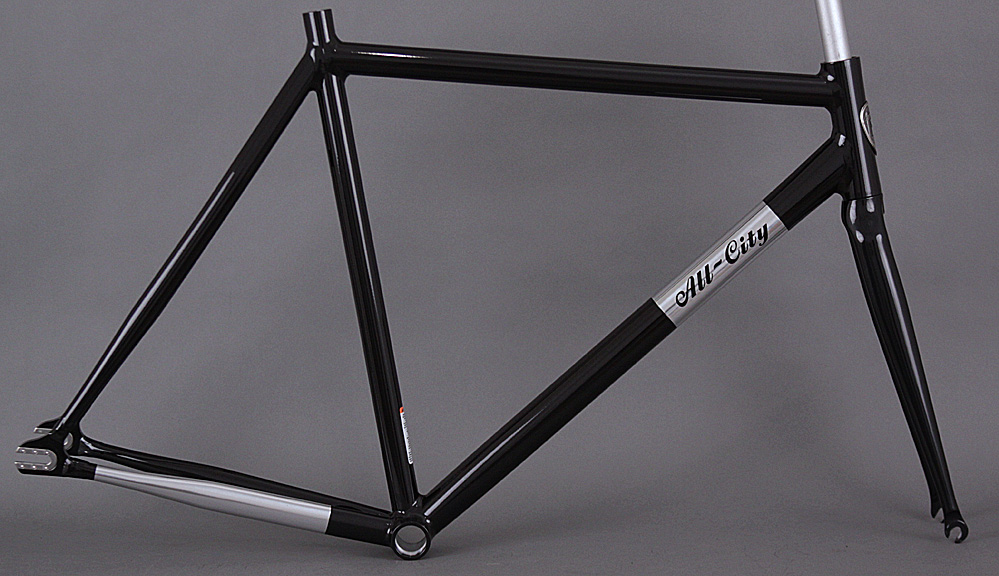 All City Thunderdome Frameset + Fork Aluminum Frame Carbon Fork