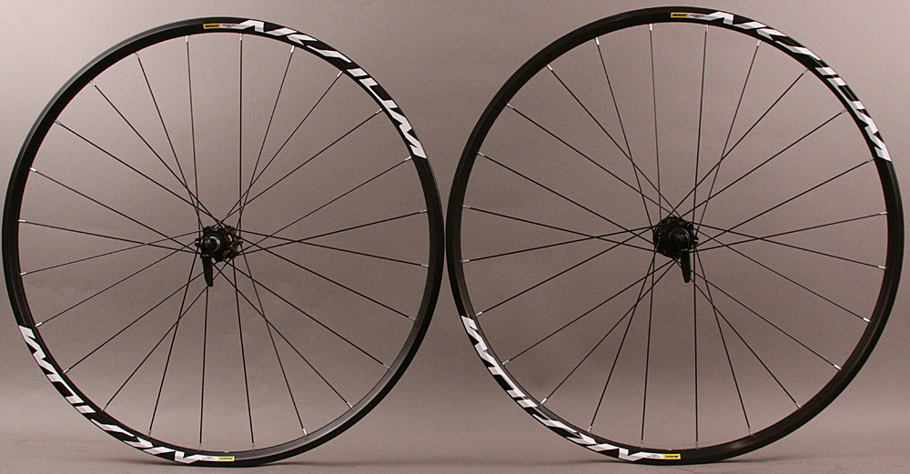 Mavic Aksium 6 Bolt Disc Road Gravel CX Bike Wheelset Campy