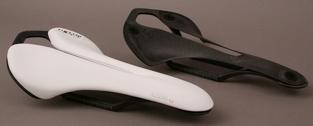Repente Italian Road Bike Carbon Saddle Aleena 4.0 All White