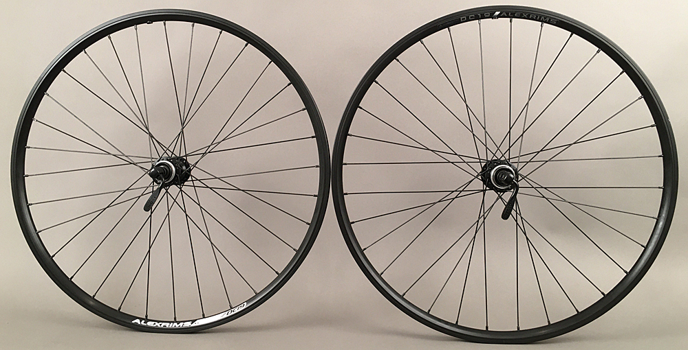 "Alex Rims Wheelset 26"" Shimano Hubs Centerlock Disc or Rim Brake"