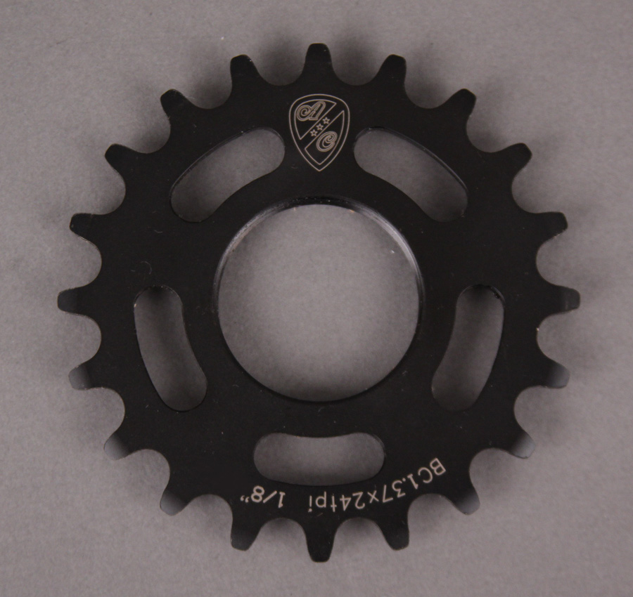 All City Track Cog 1/8th Inch 18 Tooth Black