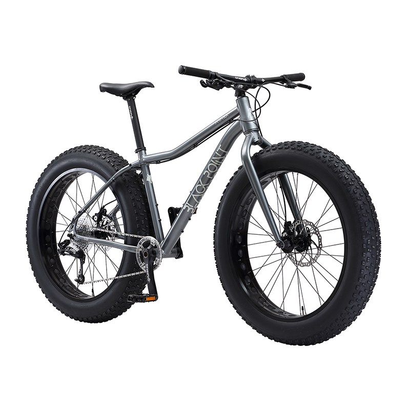 Black Point Amarok XLT 1x10 Speed Fat Bike 17.5""