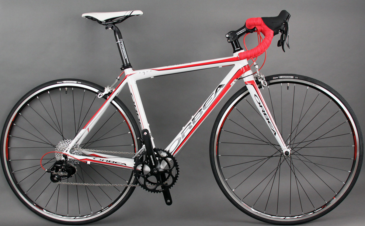 2013 Orbea Aqua Dama TPX 49cm - Red & White - SRAM 10 Speed