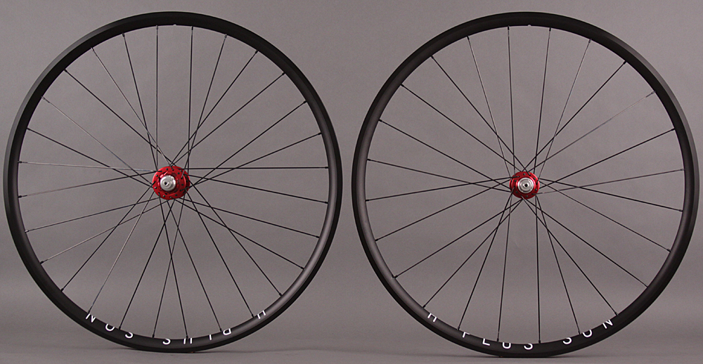 H Plus Son Archetype Wheelset Chris King R45 Red Sapim CX Ray