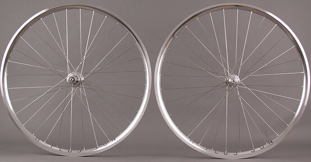 H Plus Son Archetype Silver 32h Suzue Classica Hubs Wheelset