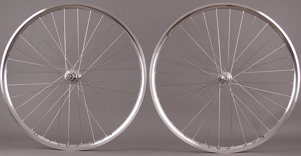 H Plus Son Archetype Wheelset Silver Chris King R45 Sapim CX Ray