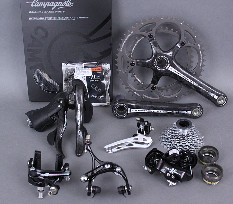 2012 Campagnolo Athena Groupset with 2010 Ultra Torque Crank