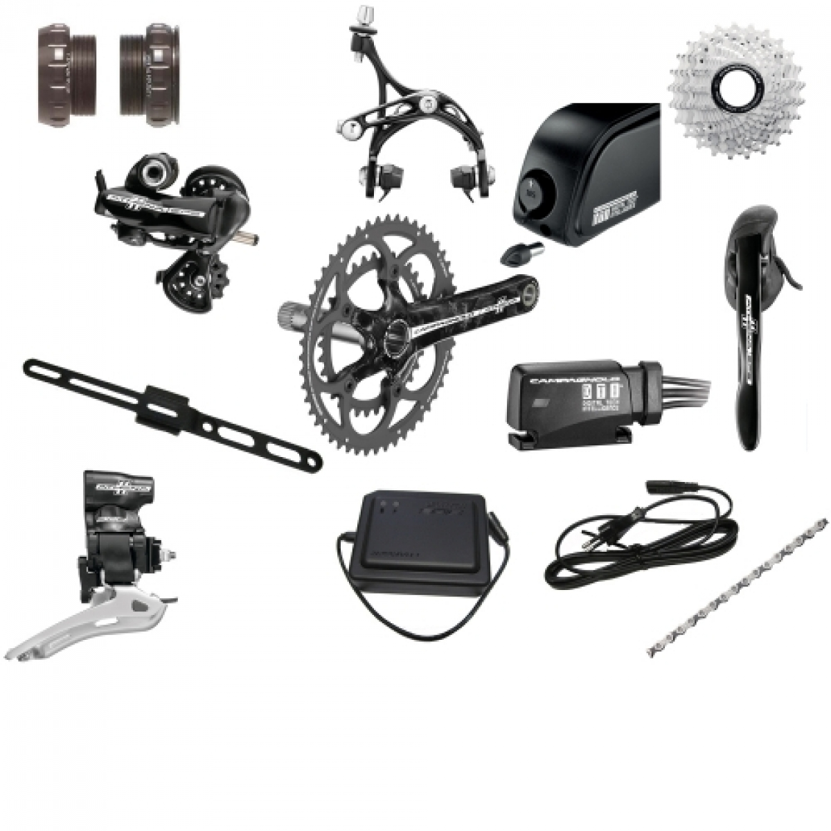 Campagnolo Athena EPS Groupset Group Electronic 14 Piece Kit