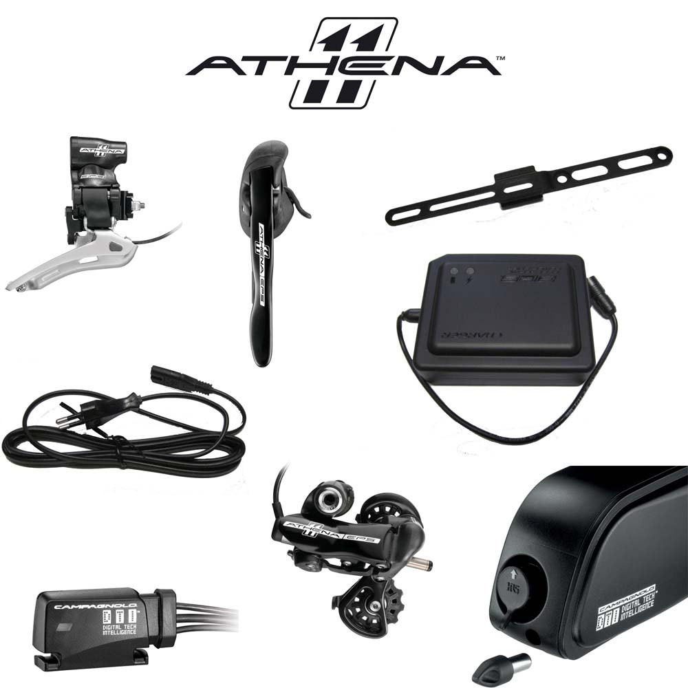Campagnolo Athena EPS 11 Speed Electronic Upgrade 8 pc Group