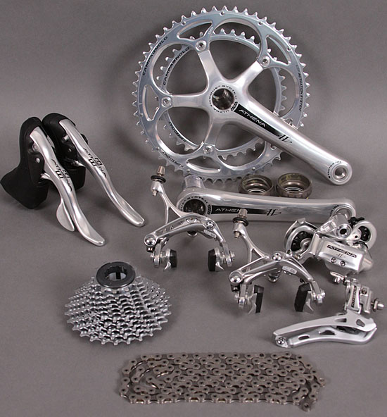 Campagnolo Athena 11 Speed Silver Group Ultra Torque Crankset