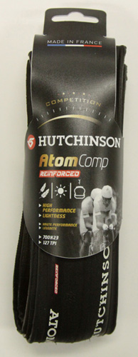 2012 HUTCHINSON ATOM COMP 700x23 Black Folding Tire 190g