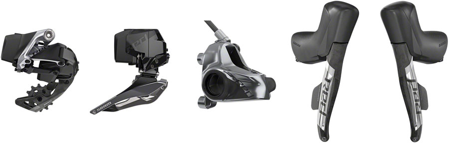 SRAM RED ETAP AXS ELECTRONIC GROUPSET 2X 12 SPEED HRD Post MOUNT