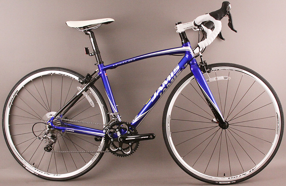 Jamis Ventura Race Road Bike Shimano 105 48cm Blue/White