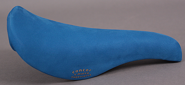 San Marco Concor Supercorsa WCS Blue Saddle & Leather Bar Tape