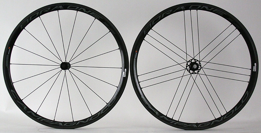 2015-2017 Campagnolo Bora One 35 Carbon Tubular Wheelset Dark