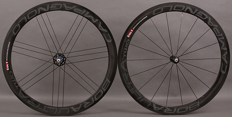 Campagnolo Bora Ultra 2 Two Dark Label Carbon Tubular Wheelset