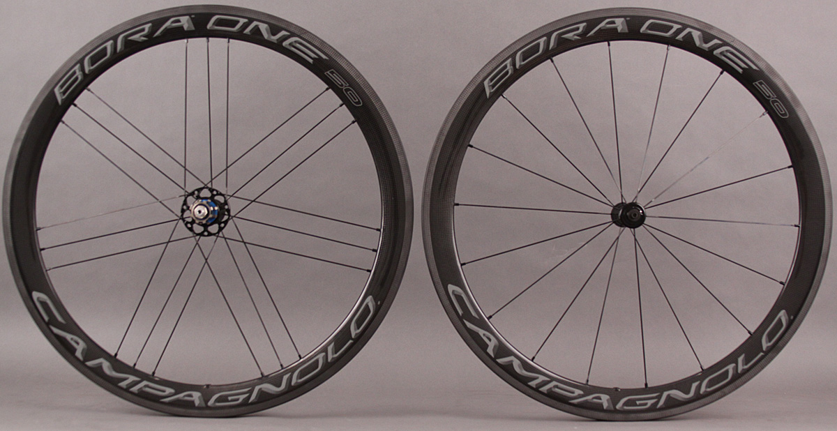 2018 Campagnolo Bora One 50 Carbon Clincher Wheelset Dark