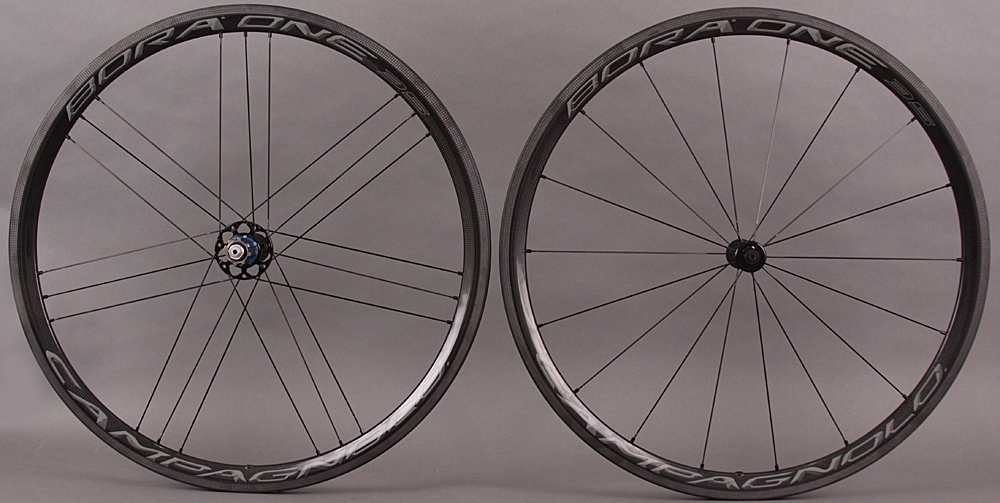 2018 Campagnolo Bora One 35 Carbon Clincher Wheelset Dark
