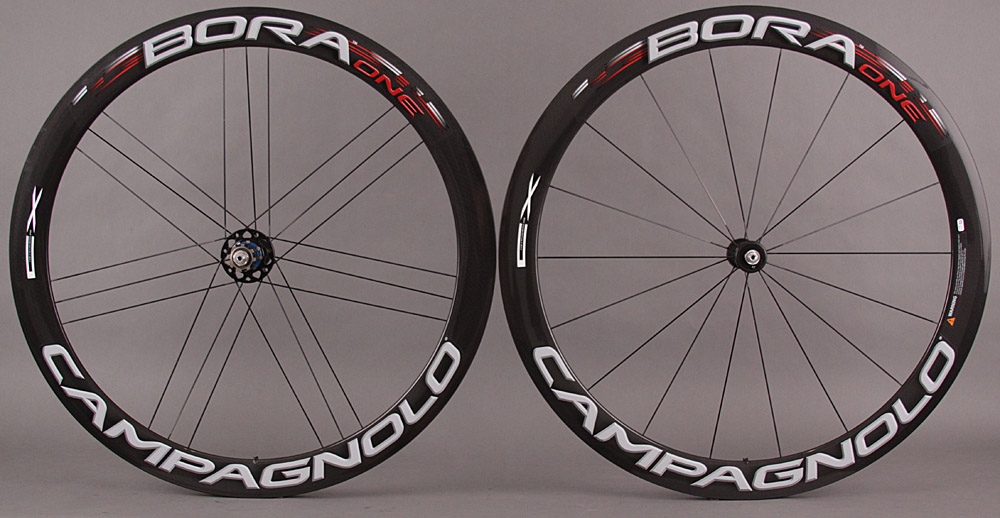 Campagnolo Bora 1 CX Road or Cross Carbon Tubular Wheelset 1350g