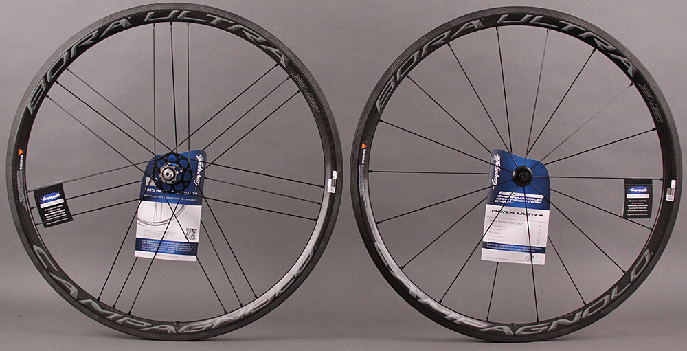 2015-2017 Campagnolo Bora Ultra 35 Carbon Clincher Wheelset Dark