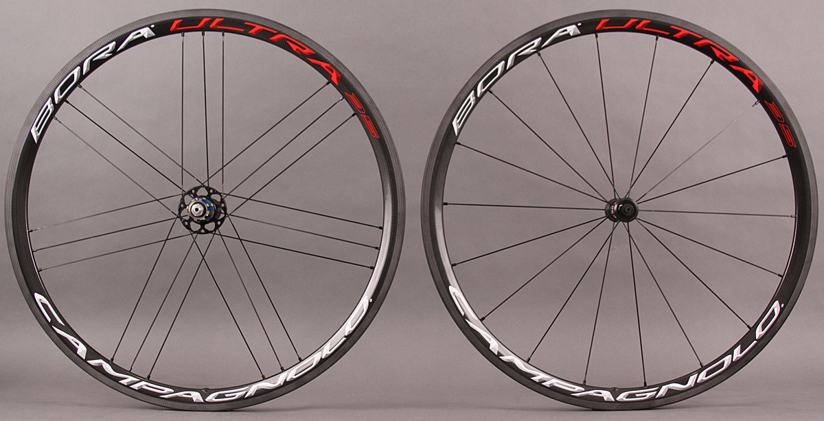 2015-2017 Campagnolo Bora Ultra 35 Clincher Wheelset Bright