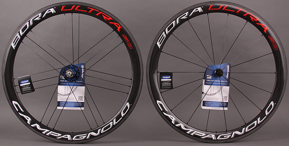 2015 Campagnolo Bora Ultra 50 Carbon Clincher Wheelset Bright