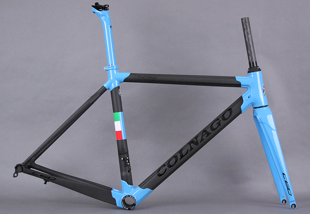 Colnago C60 Carbon Road Frameset Blue/Black PLLB 42s Closeout
