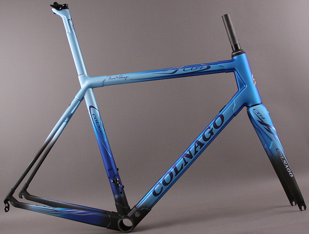 2018 Colnago C64 Frameset and Fork BFBL Matte Blue/Black 54s