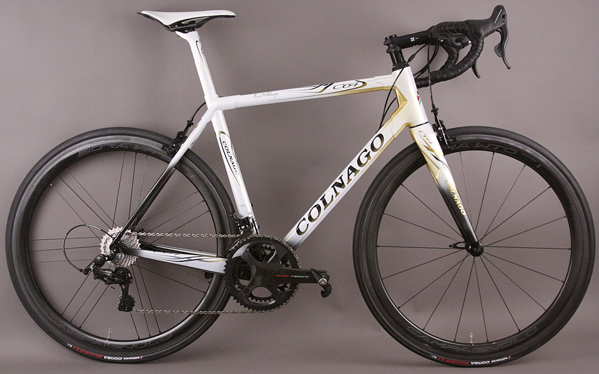 Colnago C64 Super Record 12 Carbon Road Bike Bora WTO 45