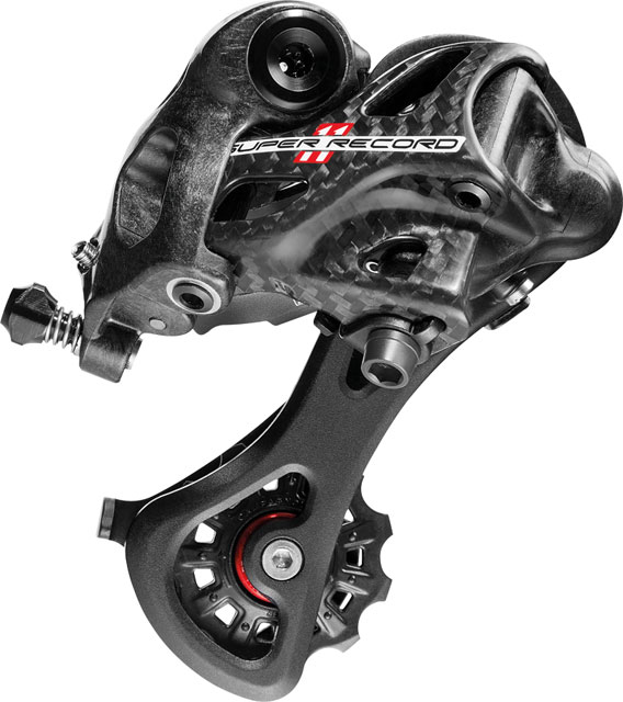 Campagnolo Super Record Rear Derailleur, Medium Cage, Carbon