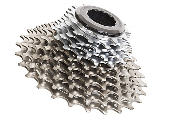 Campagnolo Super Record 11 speed cassette 11-27 with lockring