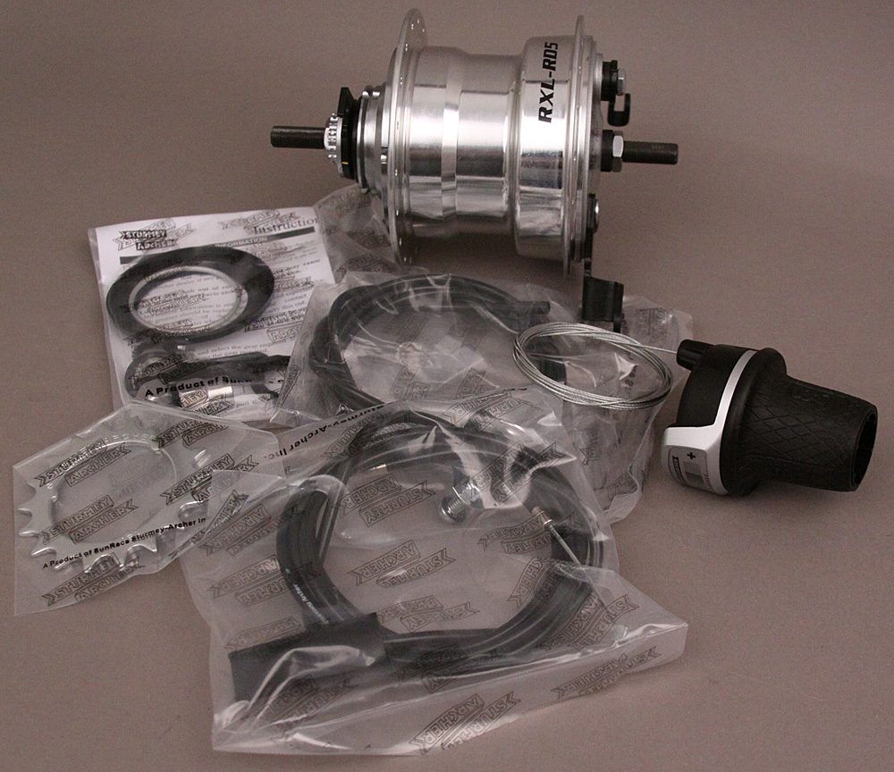 Internal Geared Hubs Closeout