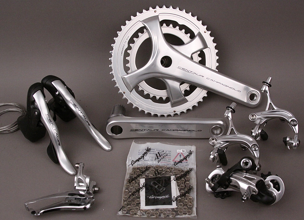 2018 Campagnolo Centaur 11 Speed 6 PC Group 175 Crankset Silver