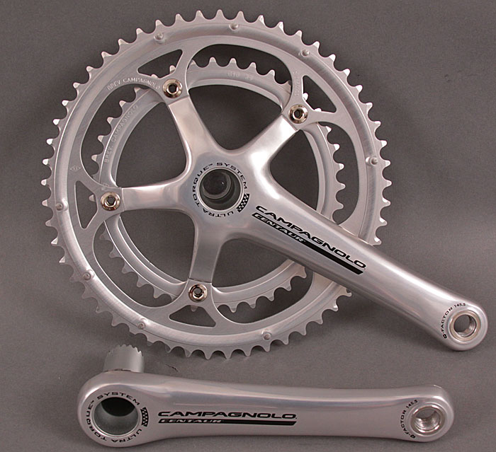 2010 Campagnolo Centaur 10 Speed Crankset 175mm 39/53