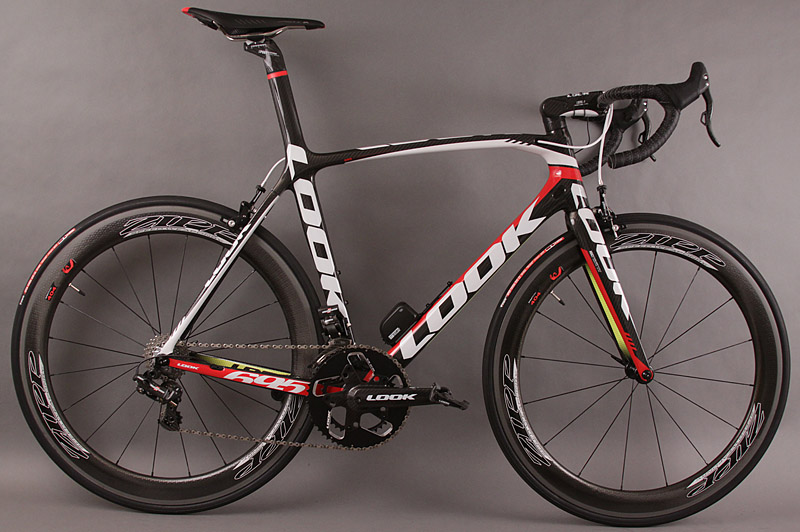 2013 Look 695 ipack Team Cofidis Super Record EPS Zipp 404