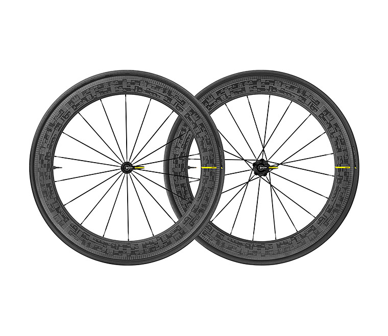 Mavic Comete Pro Carbon SL UST Road Bike Wheelset Tour de France