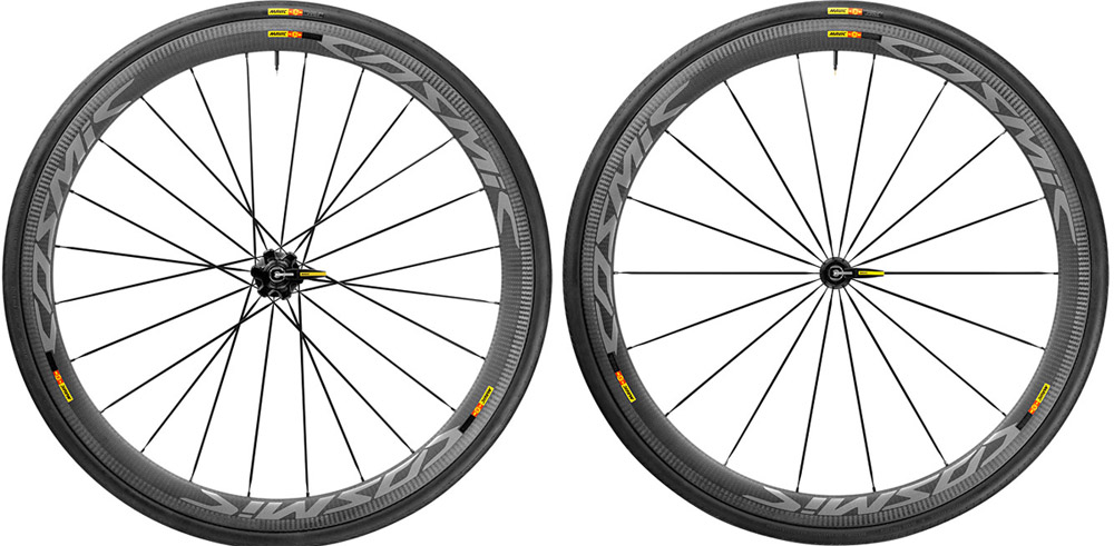 Mavic Cosmic Pro Carbon SL Clincher Road Bike Wheelset Closeout